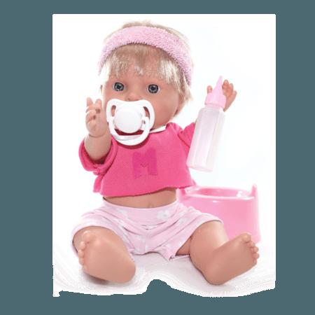 Кукла Baby Pipi Девочка в розовой повязке