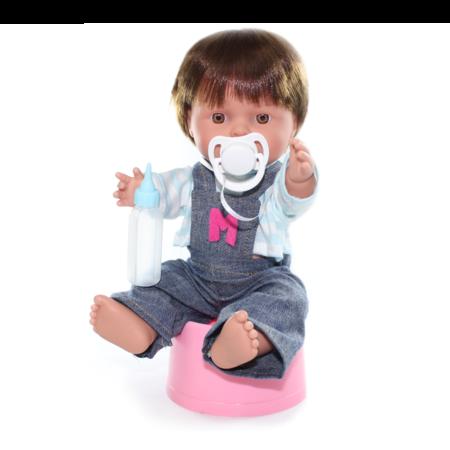 Кукла Baby Pipi Мальчик в джинсовом костюме