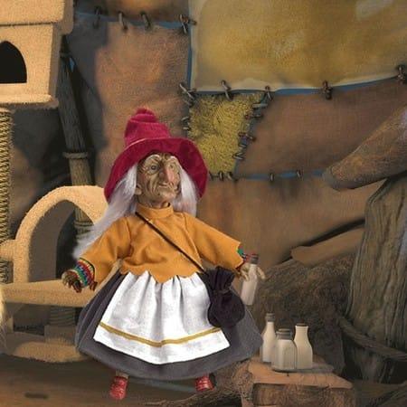 Кукла Бруиксета кельтский эльф (защита от сглаза)