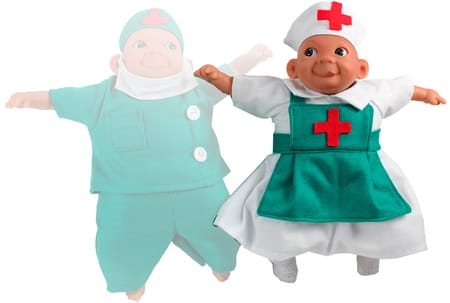 Кукла Carita Медсестра