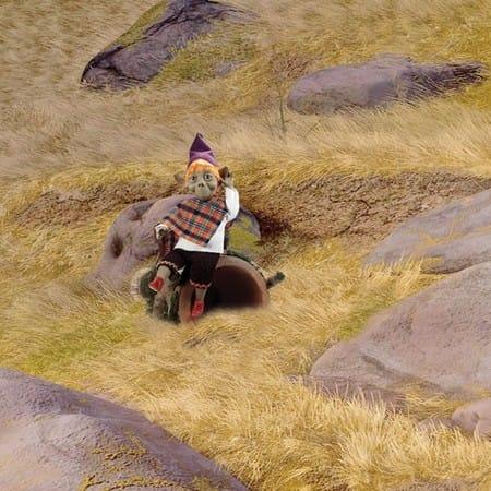 Кукла Чалмас кельтский эльф (долголетие)