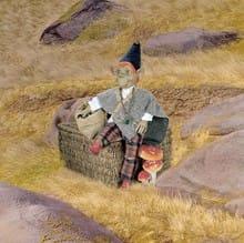 Кукла Чалмас сказка и легенда (долголетие)