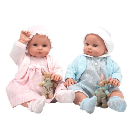 Кукла Chenchos Мальчик с зайкой