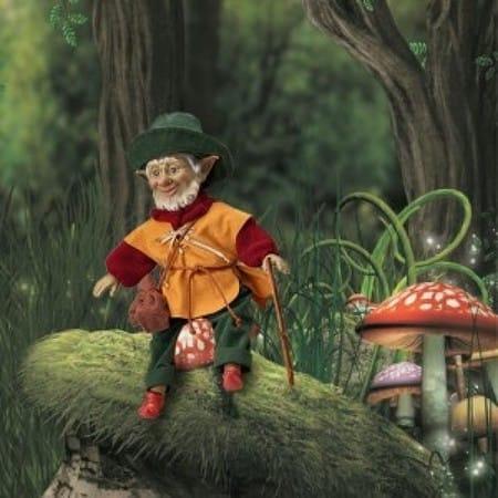 Кукла Дагда кельтский эльф (богатство, изобилие)