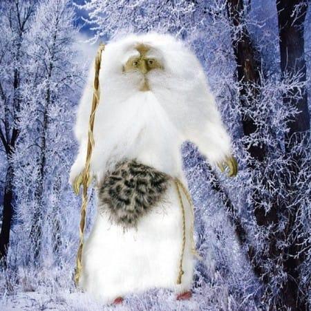 Кукла Дед Мороз (сила и спокойствие)