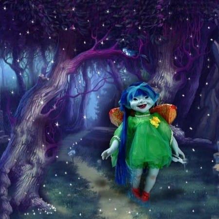 Кукла Фея Зима