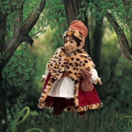 Кукла Фоллет кельтский эльф (защита домашнего очага)