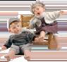 Кукла Gestitos Мальчик (с пластырем на лбу)