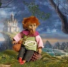 Кукла Гоблин кельтский эльф (память, пробуждает воспоминания)