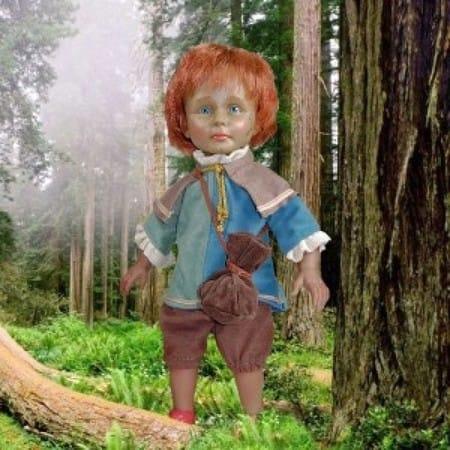 Кукла Хилтон кельтский эльф (ранняя юность)
