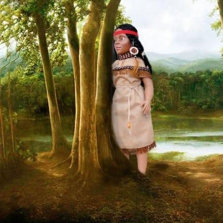 Кукла Индианка Папаго