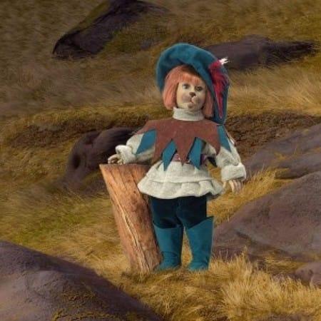 Кукла Кот в сапогах кельтский эльф (сила воли)