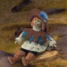 Кукла Кот в сапогах сказка и легенда (сила воли)