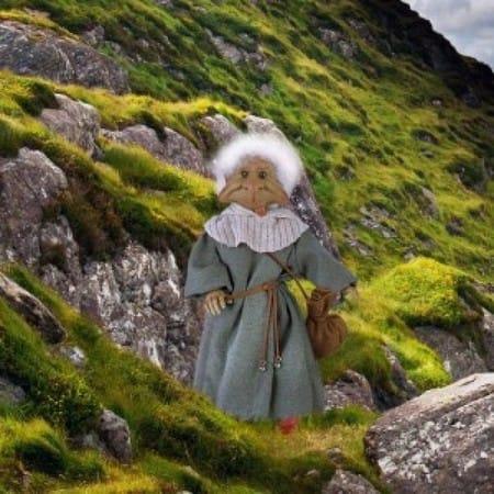 Кукла Краснолюд кельтский эльф (здоровье)