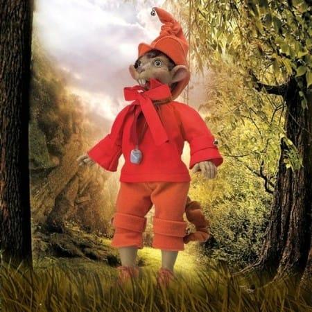 Кукла Красный Мышонок сказка и легенда (счастье)