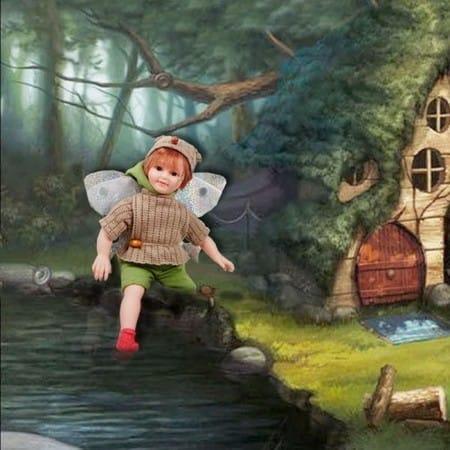 Кукла Лесная Фея Бранка