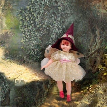 Кукла Лесная Фея Чисне