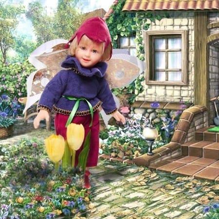 Кукла Лесная Фея Каббала