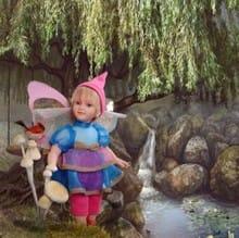 Кукла Лесная Фея Либелула