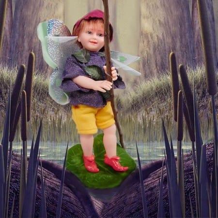 Кукла Лесная Фея Уриэль