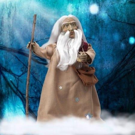 Кукла Мерлин великий бог (сила, могущество)