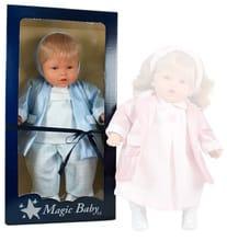 Кукла Moflete Мальчик (в блестящем жакете)