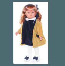 Кукла Nany в горчичном пальто