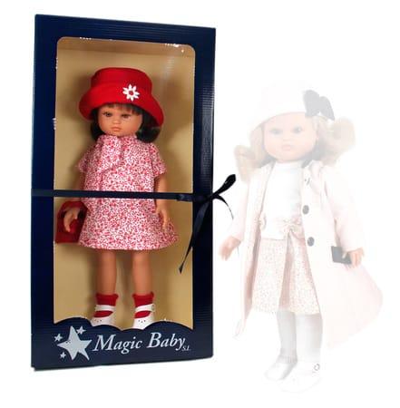 Кукла Nany в красном платье