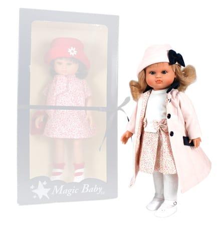 Кукла Nany в розовом пальто