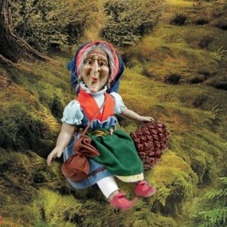Кукла Нейми кельтский эльф (знахарка)