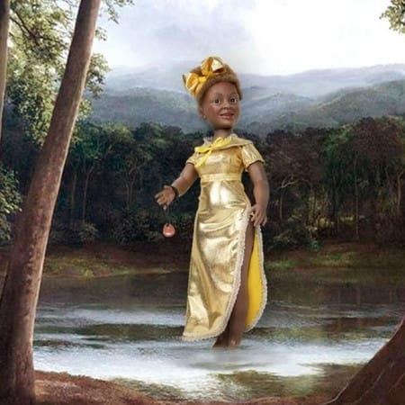 Кукла Ошун (чары любви)
