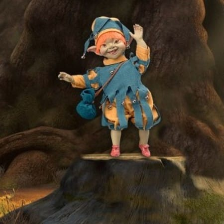 Кукла Пак (удача)