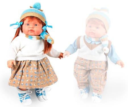 Кукла Petit Девочка (в теплом костюме)