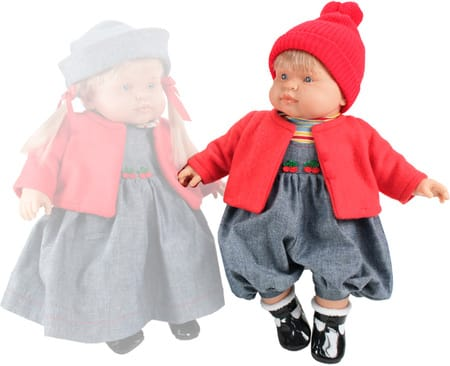 Кукла Petit Мальчик (в красном)