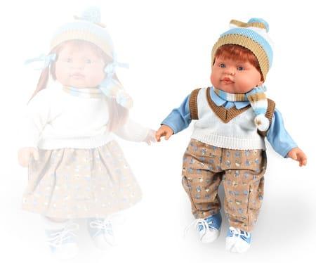 Кукла Petit Мальчик (в теплом костюме)