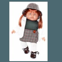 Кукла Petit Мари (рыжая)