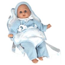 Кукла Плакса Девочка (в теплом костюме в переноске)
