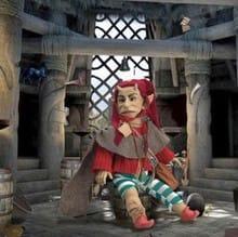 Кукла Рогатый бог (плодородие)