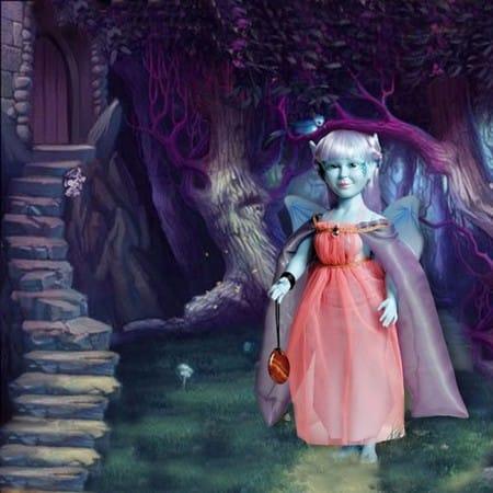 Кукла Синяя Фея Уна