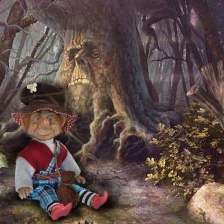 Кукла Стоуни кельтский эльф (счастье)