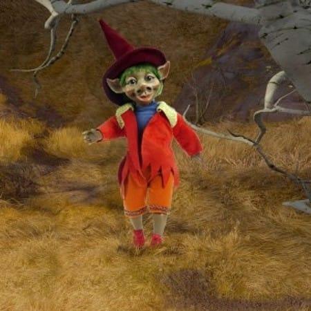 Кукла Уксмаль кельтский эльф (радость)