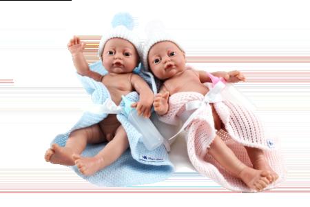 Младенец RN девочка в одеяльце 27 см