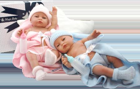 Младенец RN девочка в одеяльце 32 см