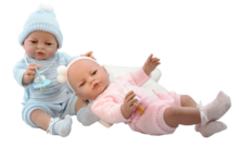Младенец RN девочка в вязаном костюмчике  39 см