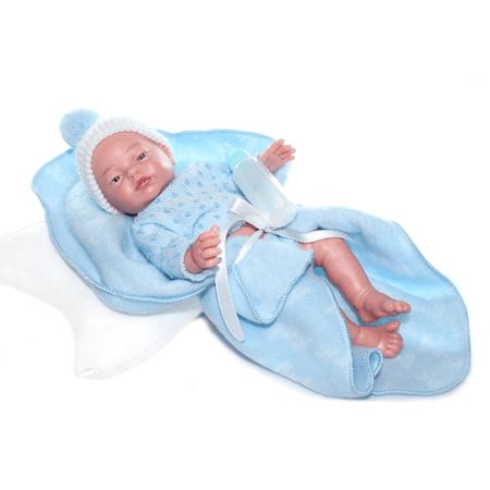 Младенец RN мальчик в одеяльце 28 см